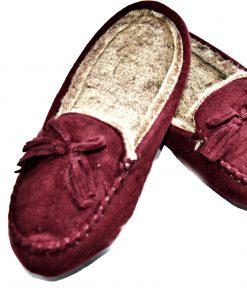 Isotoner | נעלי בית בורדו איזוטונר