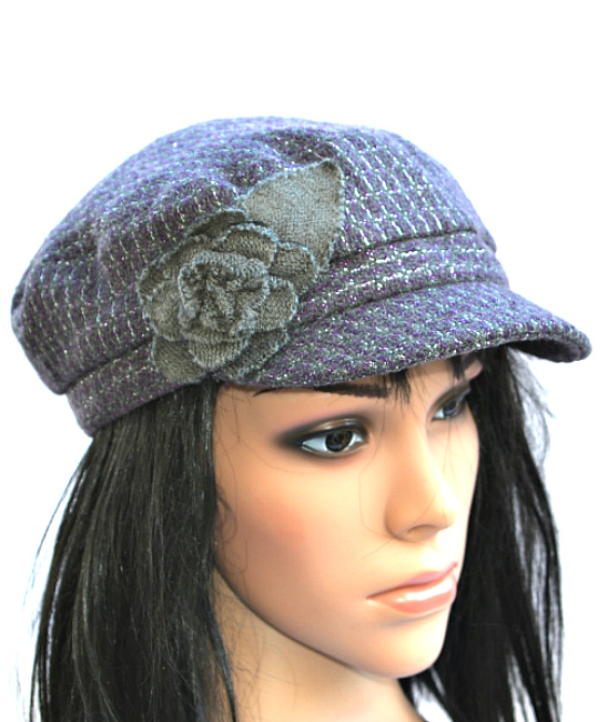COLLECTION | כובע קסקט סגול פרח קולקשיין