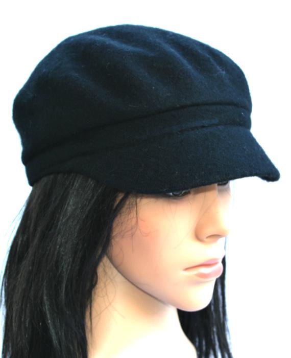 AUGUST HAT | כובע קסקט שחור אוגוסט הט