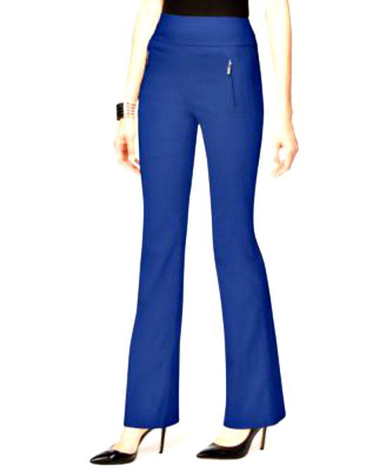 INC | מכנס פדלפון כחול רויאל איאנסי