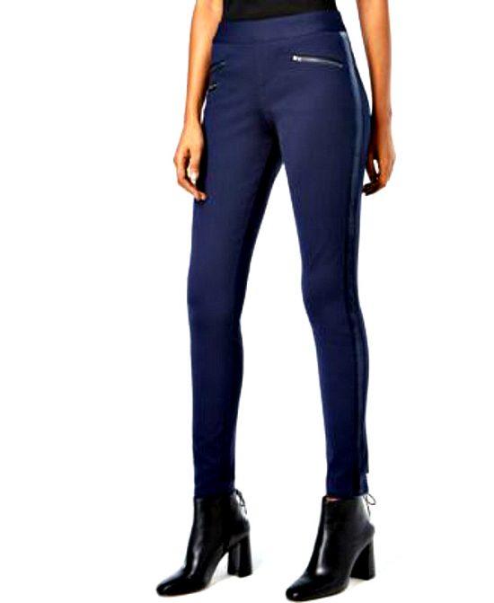 INC   מכנס סקיני כחול איאנסי