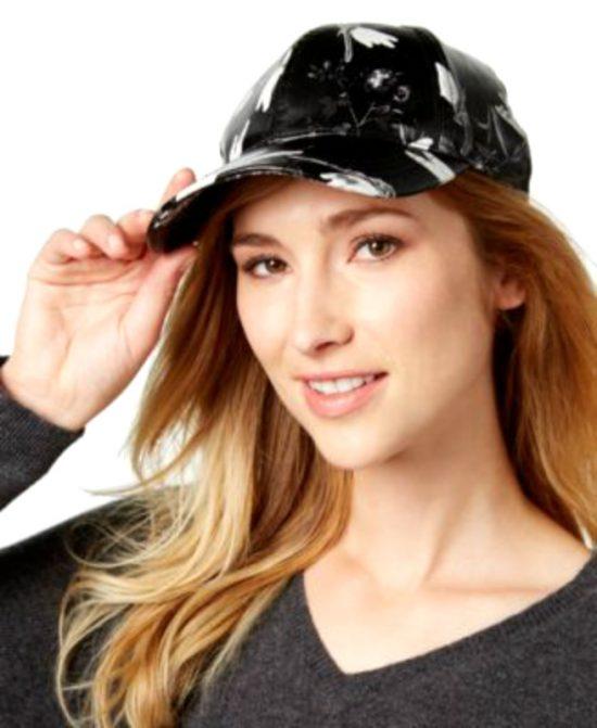 AUGUST HAT   כובע קסקט דמוי עור אוגוסט הט