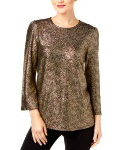 Michael Kors | חולצת ערב זהב מיקל קורס