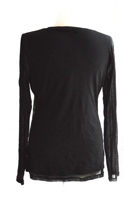 INC | חולצת פייטים שחורה איאנסי