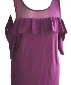INC | חולצה סגולה וולן איאנסי