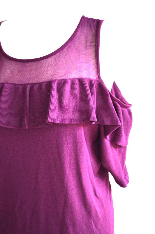 INC   חולצה סגולה וולן איאנסי