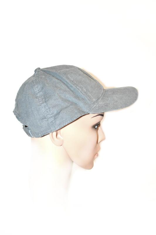 AUGUST HAT | כובע מצחייה קורדרוי אפורה אוגוסט הט