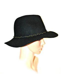 NINE WEST | כובע נשים אלגנטי שחור ניין ווסט