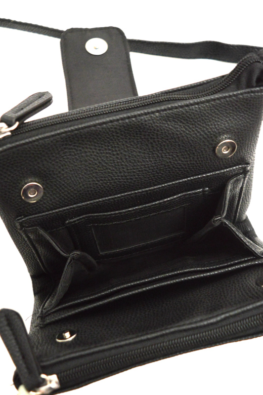 Style   תיק צד שחור סטייל