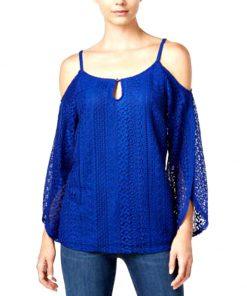INC | חולצת אוברסיז תחרה איאנסי