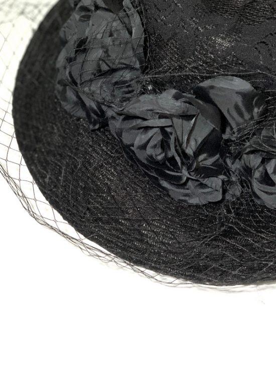 AUGUST HAT   כובע שחור אלגנס אוגוסט הט