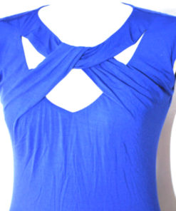 INC | חולצה כחולה טרנדית איאנסי