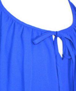 INC | חולצת אוברסיז כחולה איאנסי