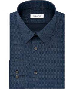 Calvin Klein | חולצה כחולה אופנתית קלווין קליין