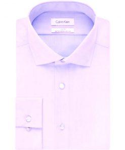Calvin Klein | חולצה מכופתרת סגול בהיר קלווין קליין