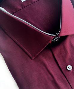 Van Heusen | חולצה מכופתרת בורדו ואן האוזן