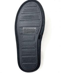 GoldToe | נעלי בית גברים שחרות סוליית זיכרון גולדטוי