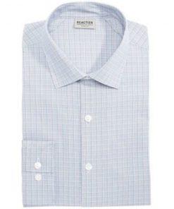 Kenneth Cole | חולצה מכופתרת משבצות קנת קול