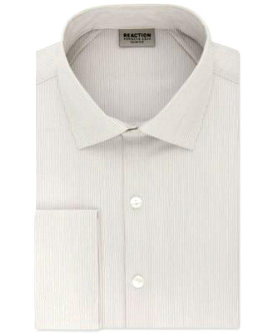 Kenneth Cole   חולצת פסים מכופתרת קנת קול