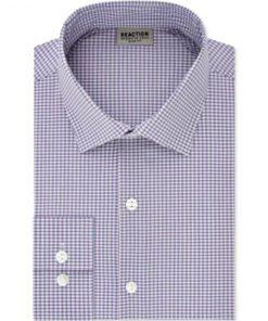 Kenneth Cole | חולצת משבצות מכופתרת קנת קול