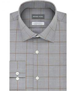 Michael Kors | חולצת משבצות אפורה מיקל קורס
