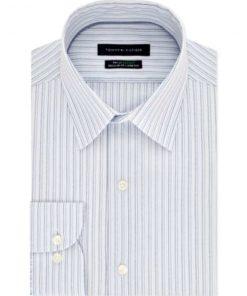 Tommy Hilfiger| חולצת מכופתרת פסים אופנתית טומי הילפיגר