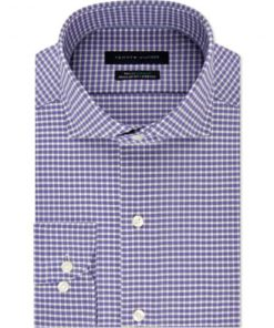 Tommy Hilfiger | חולצת משבצות סגולה טומי הילפיגר