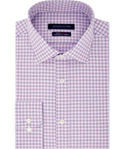 Tommy Hilfiger | חולצת משבצות סגול בהיר טומי הילפיגר