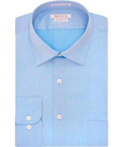 Calvin Klein | חולצה אלגנטית מבית האופנה ״קלווין קליין שרוול ארוך גזרה רגיילה צבע: אפור