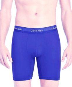 Calvin Klein | תחתון כחול בוקסר ארוך קלוין קליין