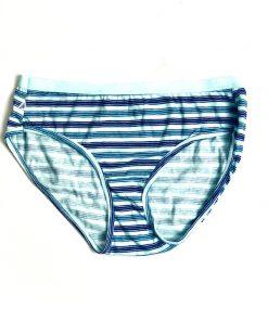 Hanes   תחתון כחול פסים הנס