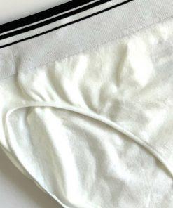 Jockey | תחתון ביקיני לבן/שחור ג׳וקי