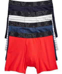 Jockey | מארז 4 תחתוני בוקסר ליין ג׳וקי