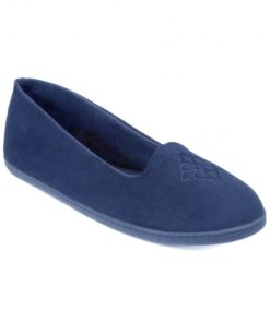 Dearfoams | נעלי בית קטיפה דירפואמס