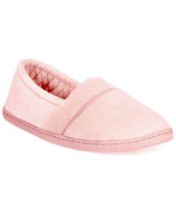 Charter Club | נעלי בית ורודות צ׳רטר קלאב