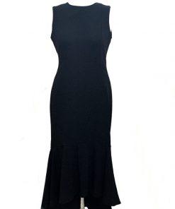 Calvin Klein | שמלה שחורה אלגנטית קלוין קליין
