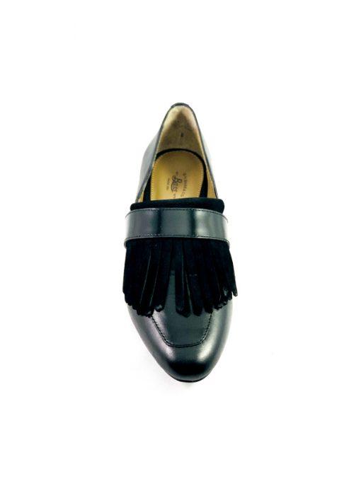 Bass | נעל אלגנטית שחורה בס