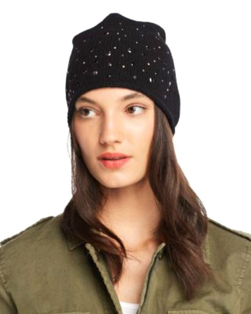 Aqua | כובע שחור ניטים אקווה