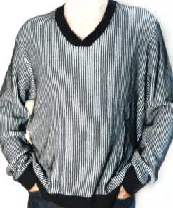Alfani | סוודר פסים אלפני