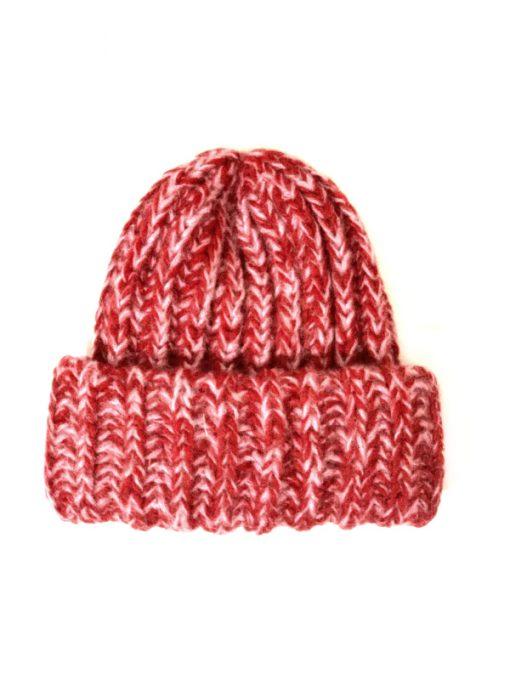 Aqua   כובע אופנתי אדום אקווה