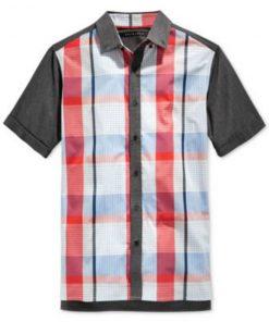 Sean John | חולצת משבצות סן ג'ון
