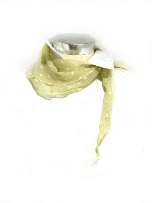 INC   צעיף קטן אופנתי צהוב איאנסי