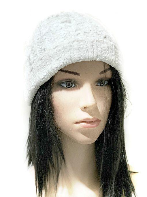 INC | כובע סרוג לבן איאנסי