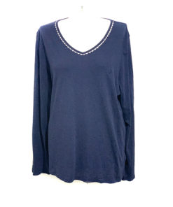 Nautica | חולצה כחולה אוברסייז נאוטיקה