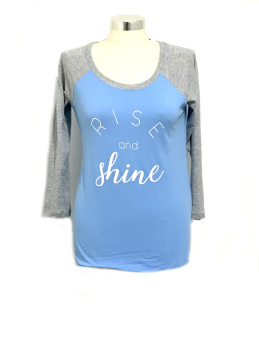 Jenni   חולצה אמריקאית כחולה ג׳ני