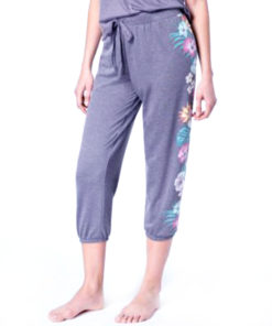 Jenni | מכנס פרחים כחול ג׳ני