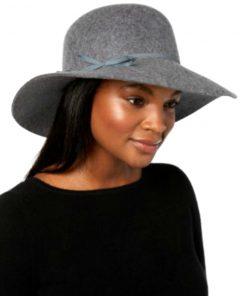 NINE WEST | כובע נשים אלגנטי אפור ניין ווסט