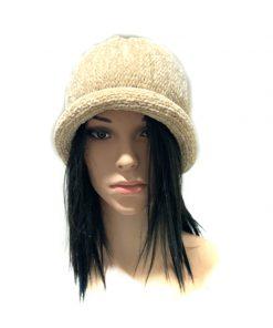 AUGUST HAT | כובע גרב סרוג בז׳ אוגוסט הט