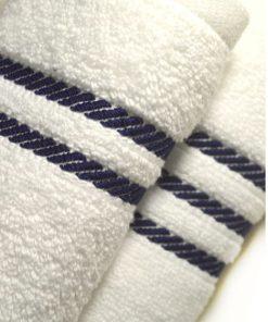 HOME | סט 2מגבות יוקרה בצבע לבן