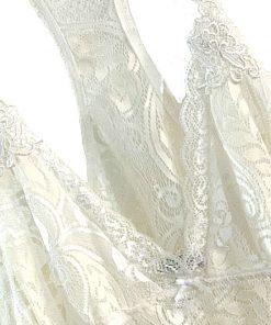 Linea Donatella   חולצת תחרה אופוויט לינאה דונטלה